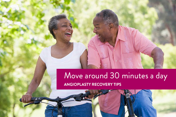 angioplasty recovery exercise