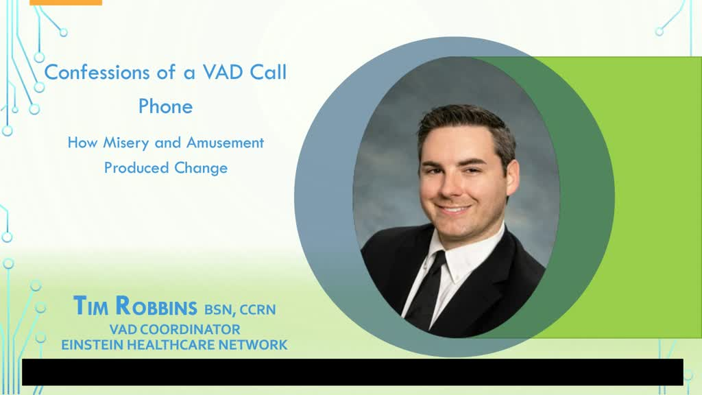 On Call Scenarios for VAD Coordinators Caring for Patients with LVADs