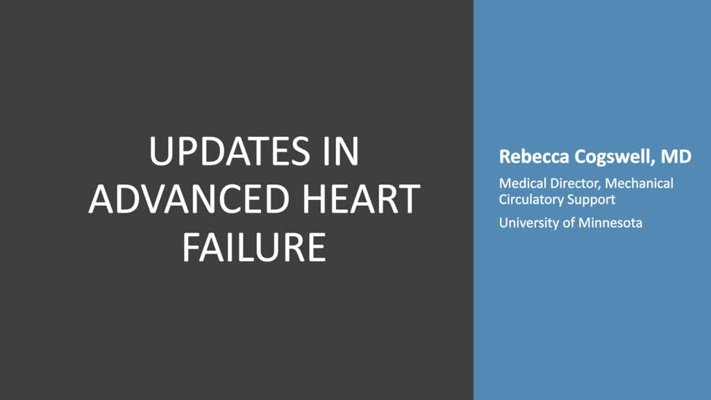 Updates in Heart Failure Management and Patient Selection for Advanced Therapies