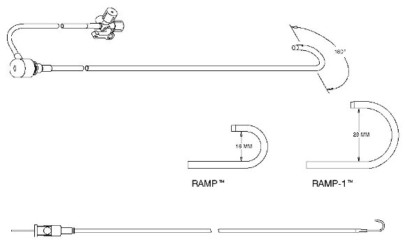 Fast-Cath™ Guiding Introducers RAMP™ Series