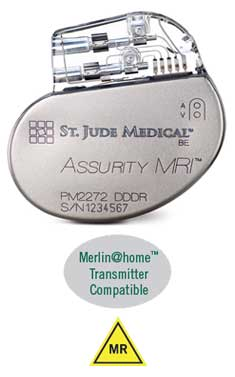 Assurity MRI™ Dual Chamber Pacemaker | Merlin@home | MR Conditional